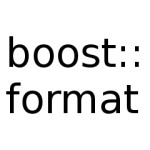 boost format examples cpp code