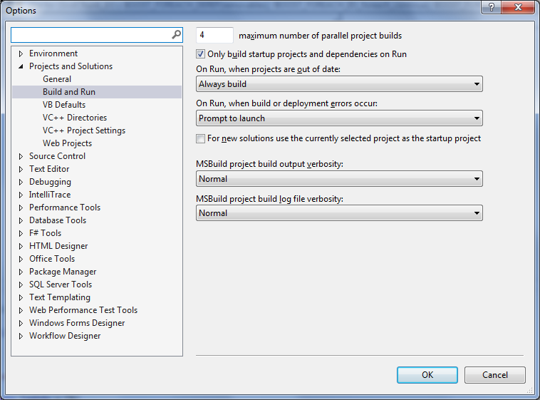 Show compile/build time in visual studio 2013 | Studio Freya