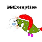 ioexception funny drawing with monsters