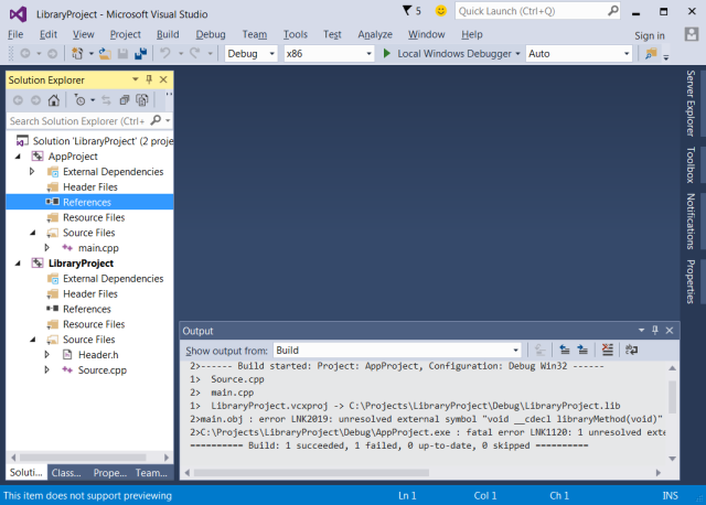 visual-studio-2015-c++-project-references