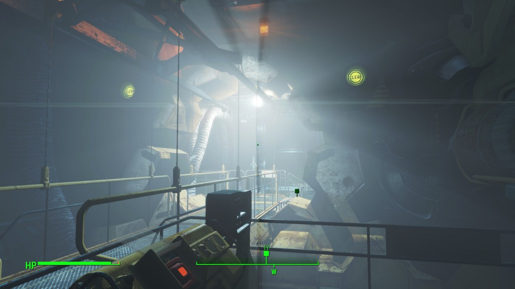 Exit of Vault 111 into Commonwealth