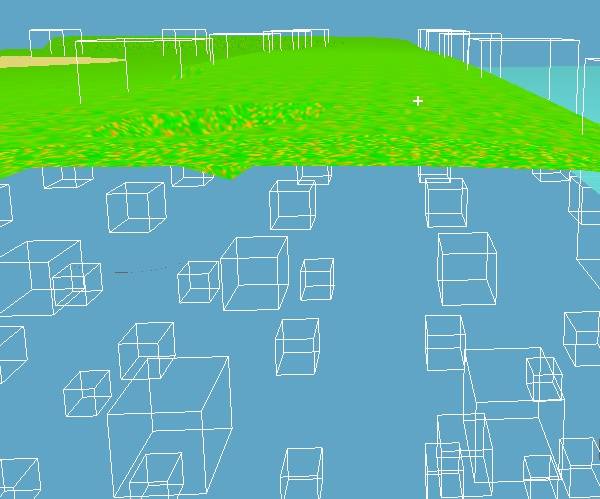 not recalculated bounding boxes