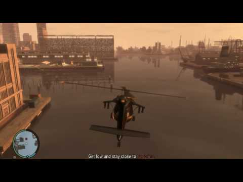 gta 4 final mission helicopter