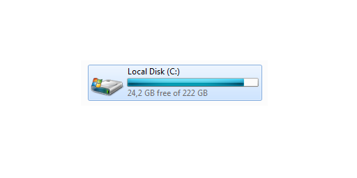 windows cleanup disk c