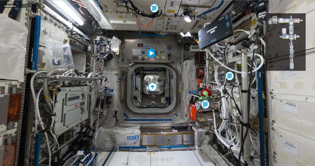 interactive iss tour