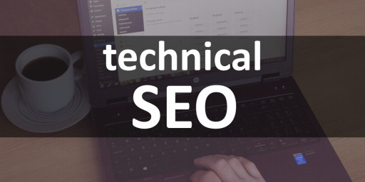 technical seo stock photo