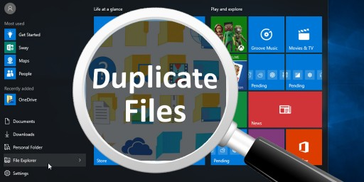 remove duplicate files songs in windows