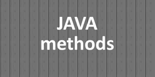 java methods blog post thumbnail