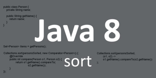 java 8 sort set comparator lambda alphabetically