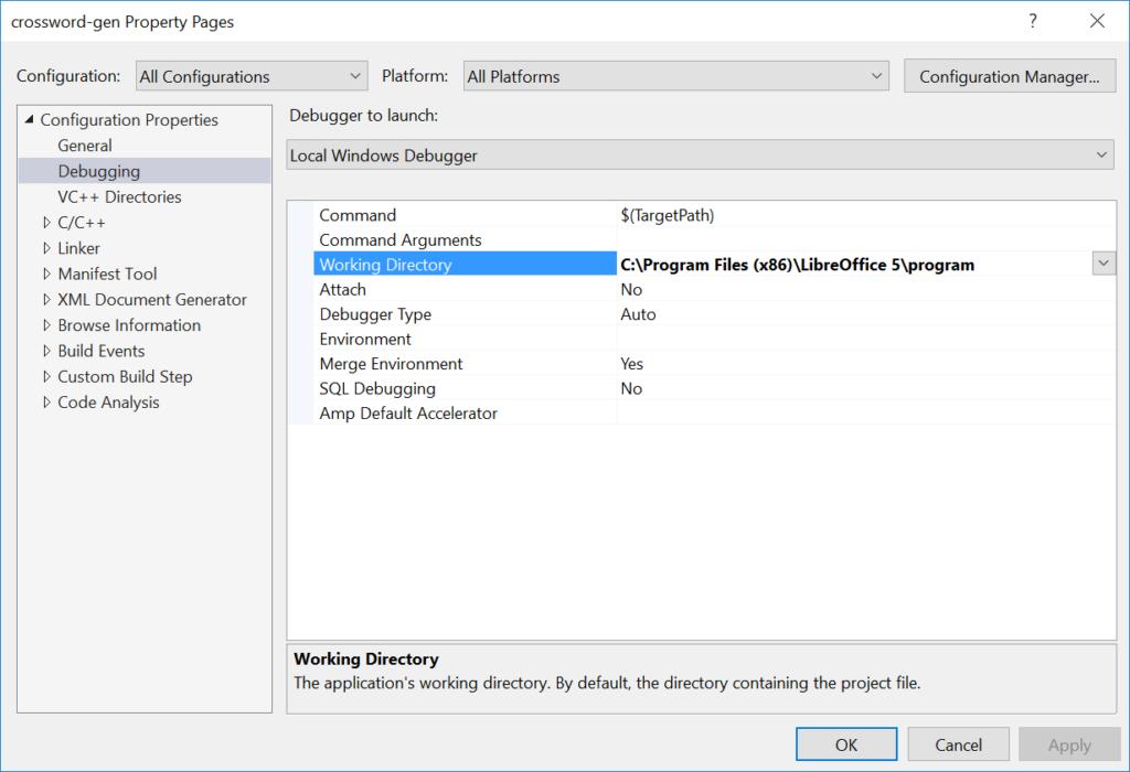 libreoffice-running-directory